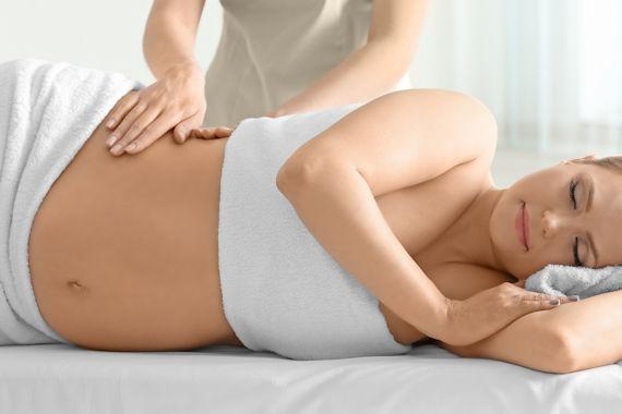 massasje gravid